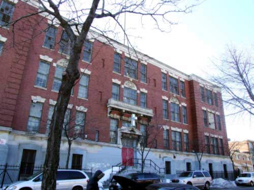 Public School 83, corner of Dean and Schenectady